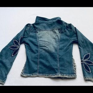 Crest Jackets & Coats - Crest Jeans Blue Jean Jacket Size Medium